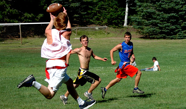 Flag football tournament every term