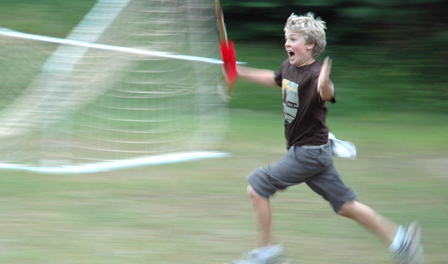 An all-time favorite at Highlands – all-camp Capture the Flag!