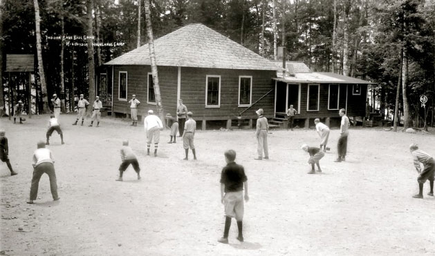 1911 – Softball on Junior Hill. Photo by James Colby, Northern Photo Company NPC