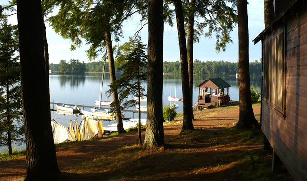 Can't you imagine reliving your camp days at the Lodge?