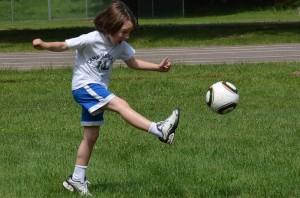 Soccer at Camp Highlands