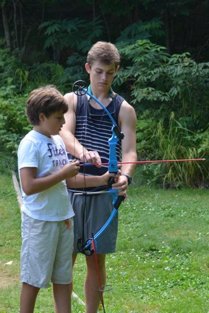 Archery with CIT John M.